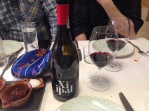 Nuestro vino Xi ipal